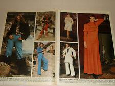 OMBRETTA COLLI  cantante singer clipping articolo foto photo 1972 MODA MONTAGNA