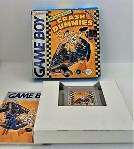La increíble Crash Dummies de vídeo juego para Nintendo Game Boy PAL En Caja Probado