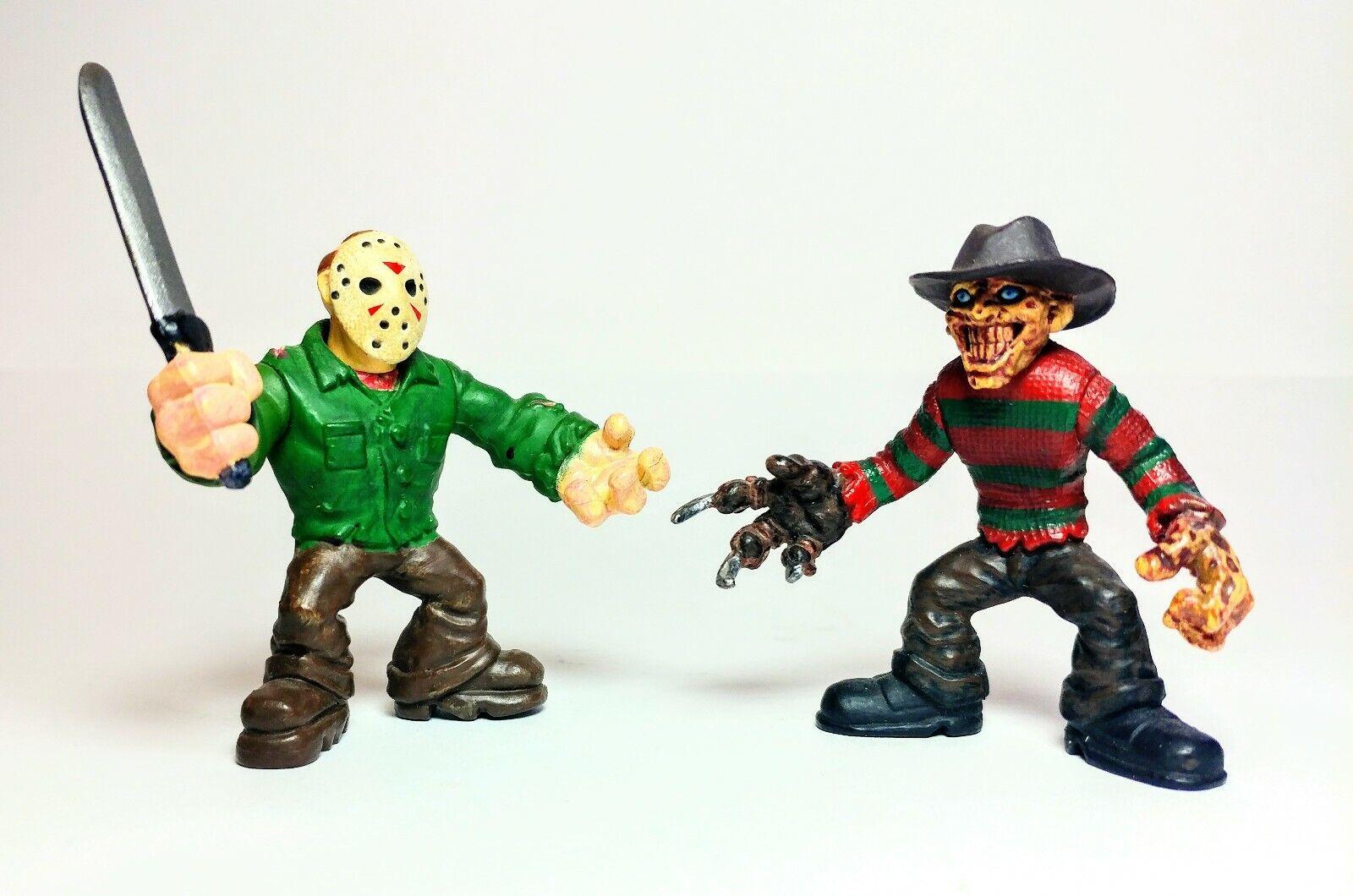 Mezco Tiny Terrors Lot Jason Voorhees Freddy Krueger