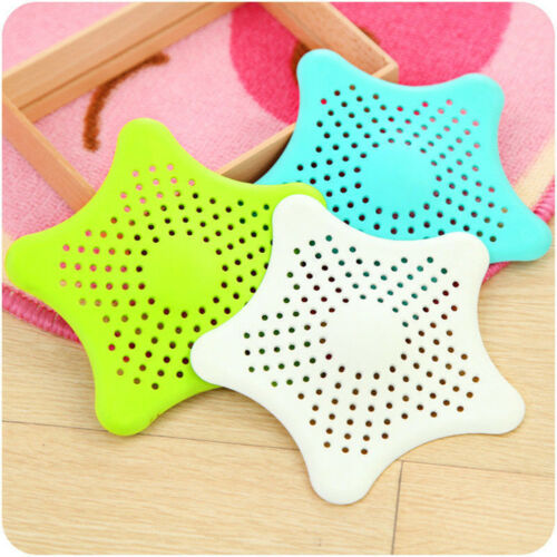 Universal Hair Catcher Suction Cups Drain Cover Silicone Bathroom Strainer 15cm