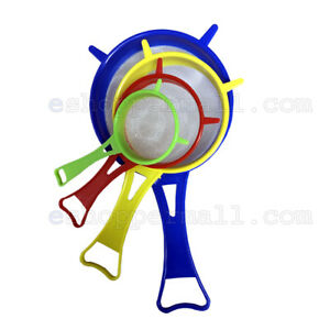 4-Piece-Kitchen-Strainer-Set-Nylon-Mesh-Strainer-4-Assorted-Sizes-amp-Colors