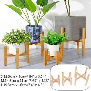 Wooden-Plant-Stand-Garden-Planter-Flower-Pot-Stand-Indoor-Outdoor-Shelf