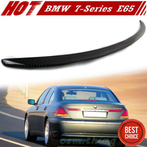 Fits 2009-2015 7 Series F01//F02 Roof Spoiler Wing OE Style Titanium Silver 354