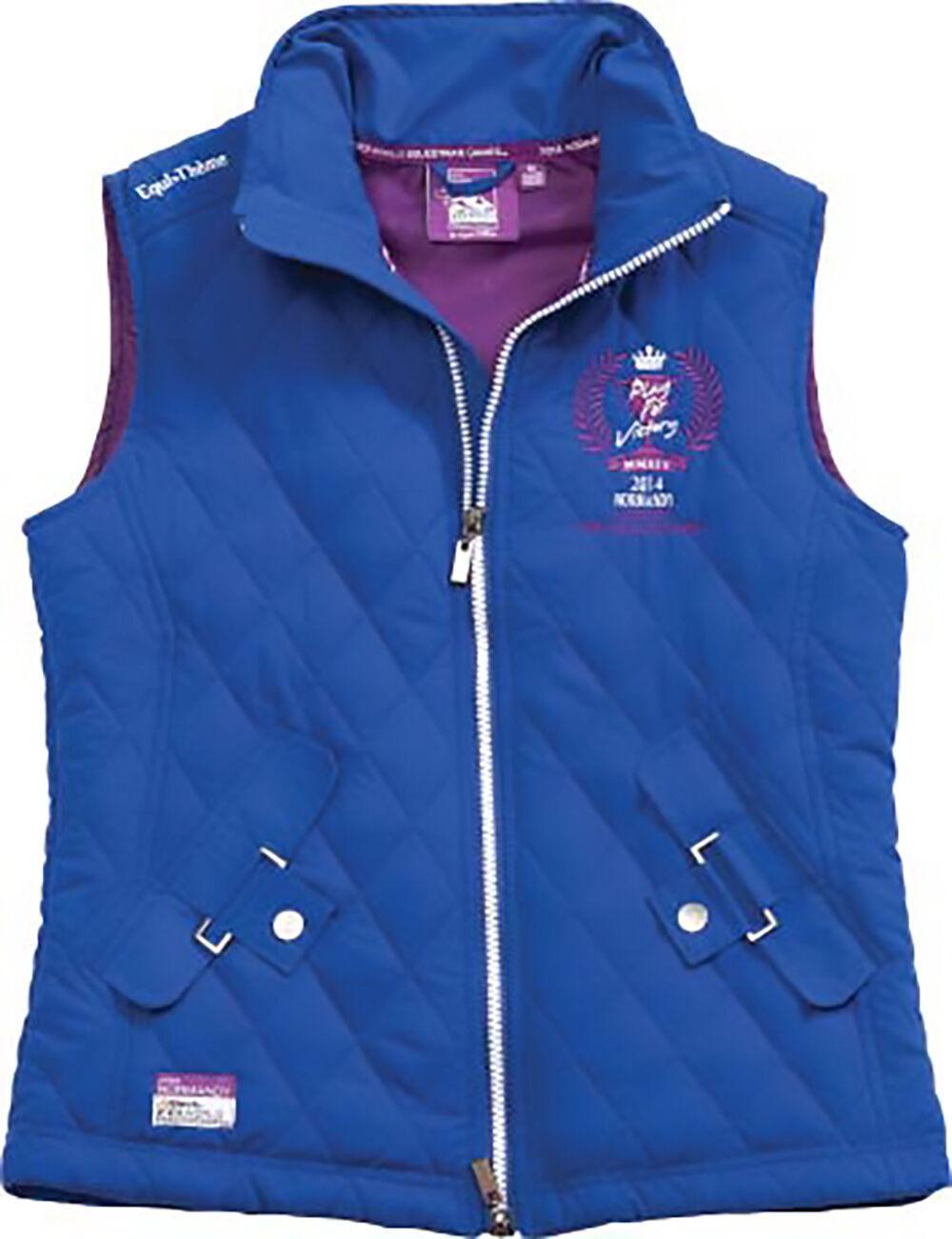 Equi theme Ladies Equestrian Waistcoat FREE P&P