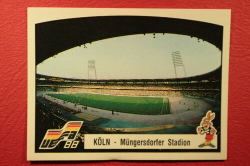 34  KOLN NEW WITH BACK VERY GOOD MINT CONDITION Panini EURO 88 N