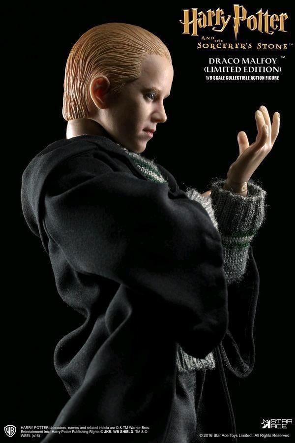 Harry Potter Draco Malfoy (School Uniform) 1:6 Scale Star Ace 12