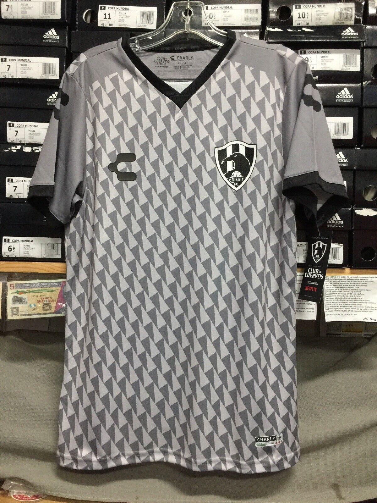 Charly Cuervos de nuevo Toledo gris Jersey Playera De Cuervos talla XL sólo