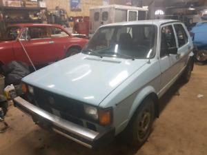 1982 Volkswagen Rabbit L
