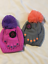 Girls-Accessories-Hat-amp-Glove-Set-Metal-Stud-Decor-Gray-or-Pinks-One-Size thumbnail 1