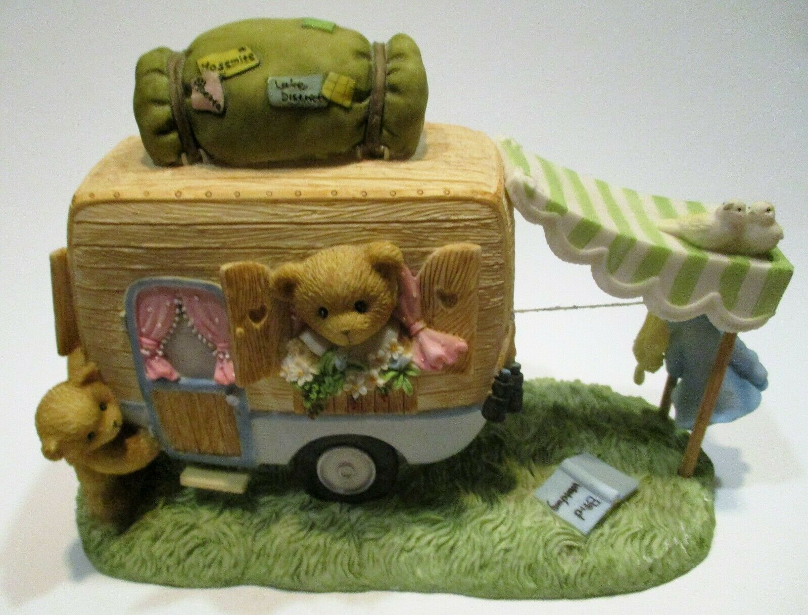 Cherished Teddies Noreen & Naomi 2005 2005 2005 Members Only CT0053 Camping Nice Enesco 65284f