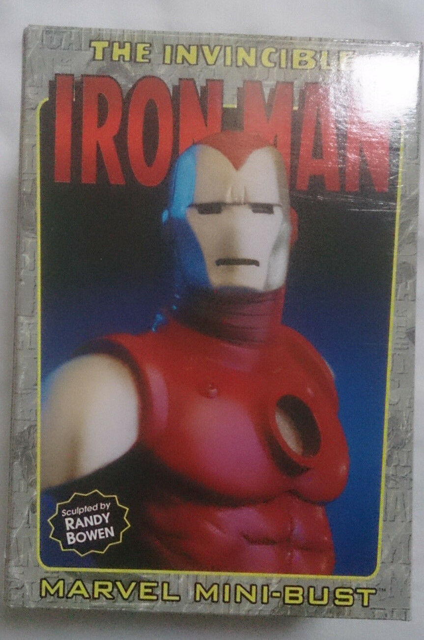 Marvel Comics Bowen Avengers The Invincible Iron Man mini bust statue with box