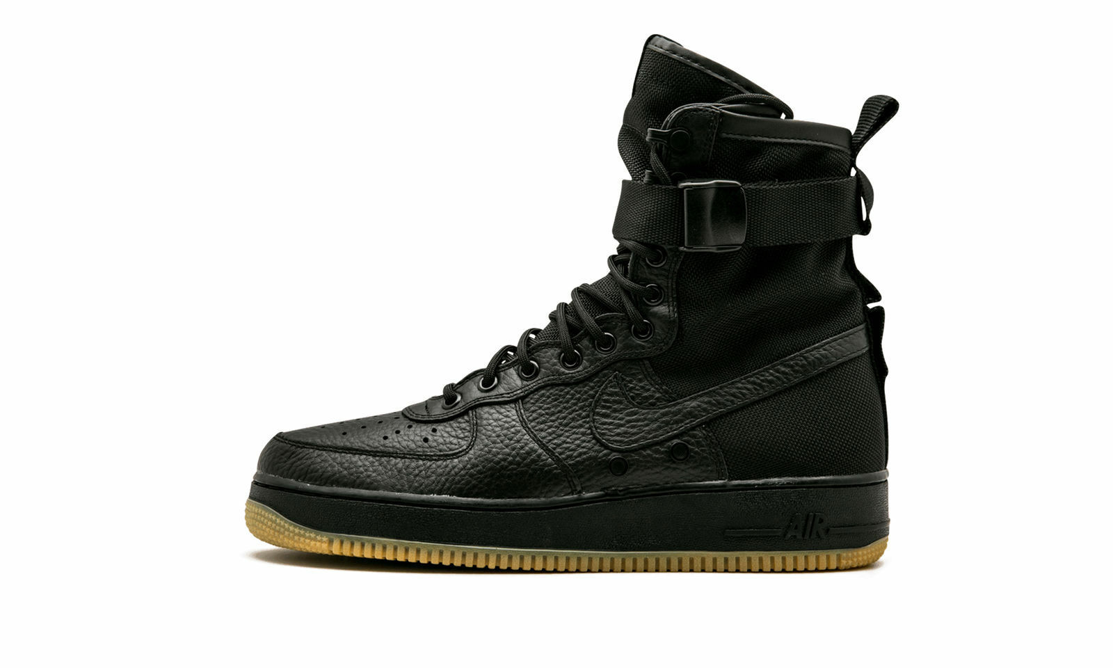 New Men's Nike SF AF1 Air Force 1 Black Gum Size 9 864024 001