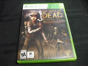 Details About Replacement Case No Game Walking Dead Season 2 Xbox 360