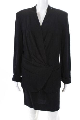 Donna Karan New York Women's A-Line Skirt Suit Woo