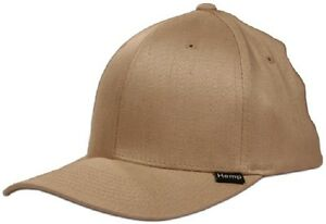 61da93f8c Details about NWT Hemptopia Men's Tan Hemp Small / Medium Flex Fit Baseball  Cap