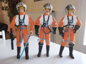 Wedge Star Wars, Biggs, Luke Pilote Pilote 12   Star Wars Wedge, Biggs, Luke Pilot Poupee 12