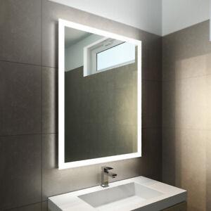 Badezimmerspiegel G19 Mit Led Beleuchtung Badspiegel Wandspiegel