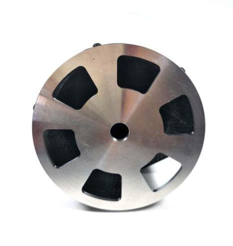 environ 10.16 cm 1X fibre de carbone Spinner 4 in 4 axe de gaz RC avion avec arrière en aluminium plaque