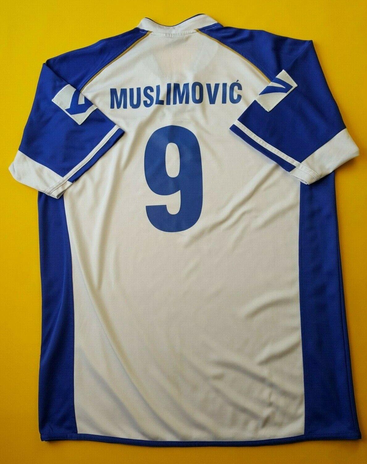 4.3 5 Muslimovic Bosnia Y Herzegovina Jersey Camisa Legea grande de 2006 ig93