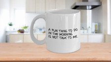 Funny Coffee Mug Novelty Gift Sarcastic Grumpy Humor Don/'t talk to me