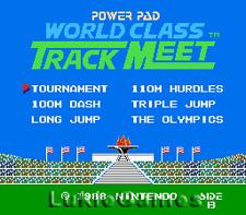 World Class Track Meet - NES Nintendo Power Pad Game