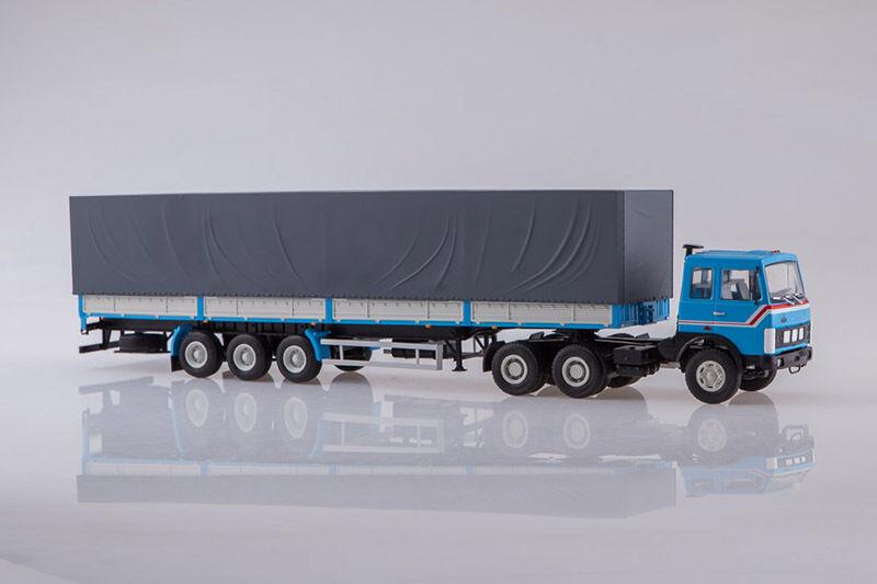 MAZ 6422 with MAZ 9758 semitrailer  1 43 Avtoistoria 101579