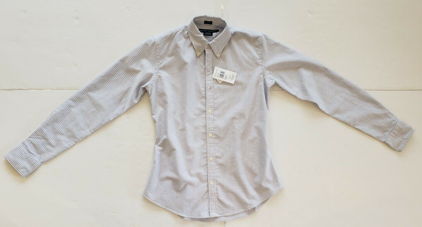 NWT Polo Ralph Lauren  damen OXFORD SLIM FIT SHIRTS Größe 2  110