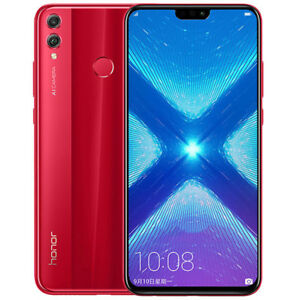 Huawei-Honor-8X-6-5-034-64-Go-Rouge-Red-Debloque-Dual-Sim-4G-Android-8-0-Smartphone