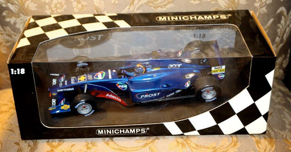 Minichamps Grand Prix 1 18 Scale 100-010122 Prost AP04 H.H. Frentzen  Rare new