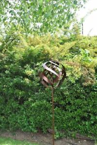 Image Is Loading Copper Venus Garden Wind Spinner 186cm Tall Garden