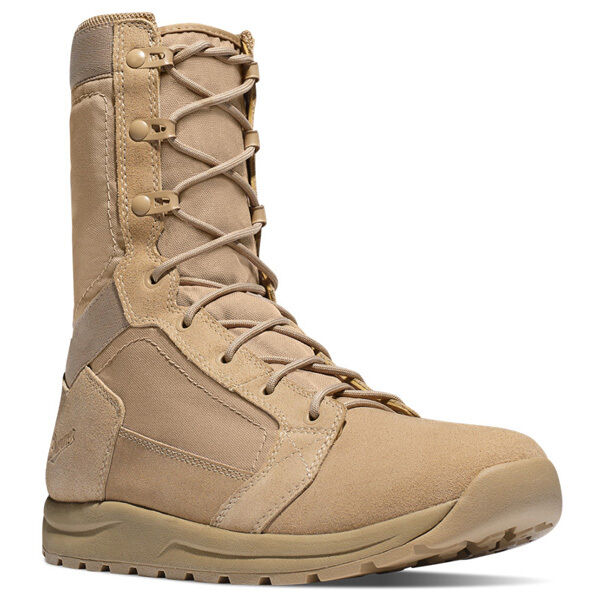 NEW Danner Tachyon Desert Light Agility Rough-Out Stiefel, 8 , Tan Leather Nylon