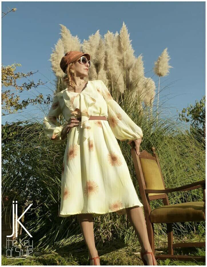 Vestito swing anni 30 modello Rita Hayworth sartoriale fatto a mano swing Lindy