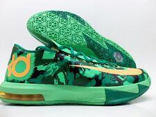 8e9e1f62a827 Nike KD VI 6 Mens Easter Basketball Lucid Green Atomic Mango 599424-303 Sz  11