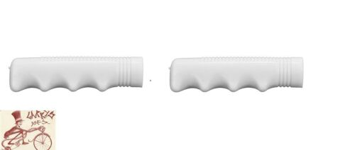 """HUNT WILDE WHITE 3//4/"""" PLASTIC BICYCLE GRIPS"""