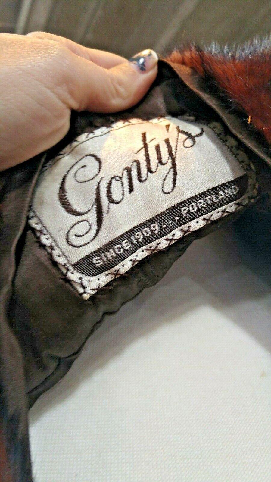 VINTAGE 50'S - 60'S MINK STOLE BY GONTY'S PORTLAND - image 5