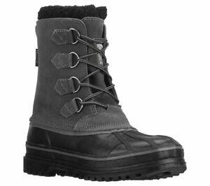 Skechers-Revine-Hopkin-Stiefel-Herren-Wasserdichte-Wildleder-Winter-Thinsulate