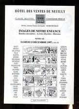 CATALOGUE VENTE BD ENCHERES  AGUTTES 13/12/1997
