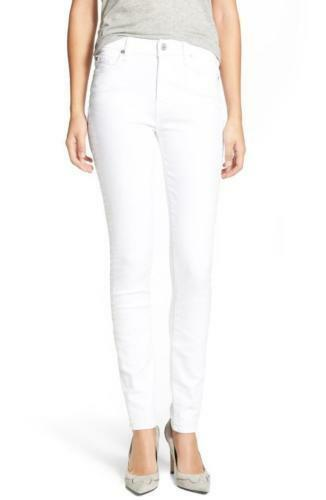 7 For All Mankind Women's The Skinny, Clean White, 30