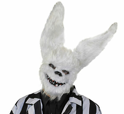 Scary Animal Halloween Masks.Killer Bunny Rabbit Mask Horror Scary Animal Halloween Fancy Dress Costume Ebay