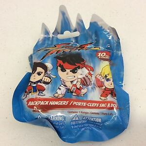 Street-Fighter-Capcom-Just-Toys-Backpack-Hanger-Brand-New-Random