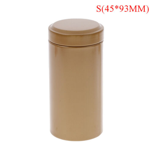 Airtight  smell proof container-new tinplate herb-stash-jarB/_DM