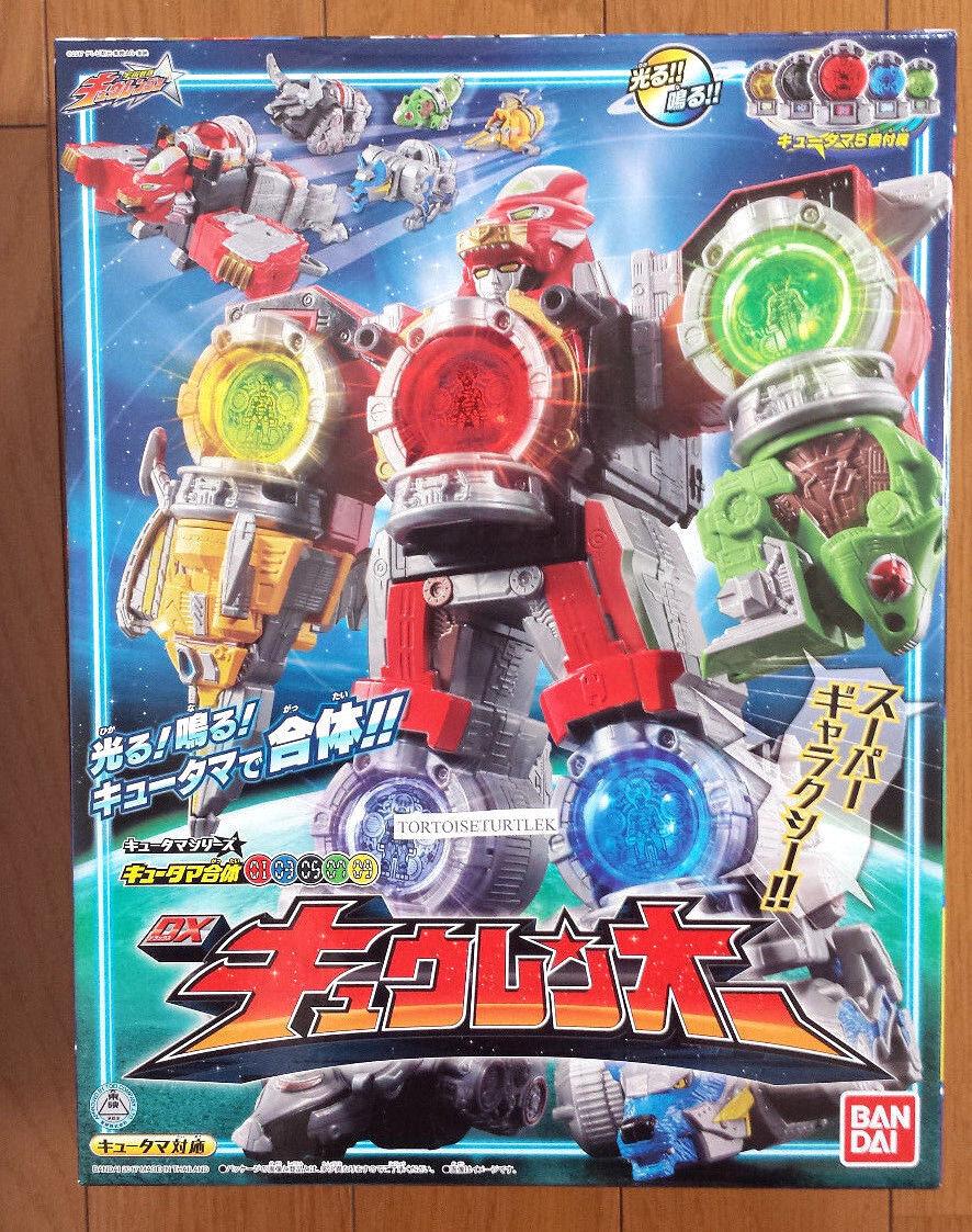 Power Rangers  kyuranger DX kyurenoh Megazord Uchu Sentai 1 3 5 7 9 qrenoh  vente en ligne