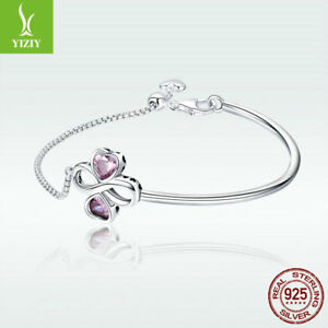 Voroco 925 Sterling Silver Beads Full Of Love Hollow Fit Women/'s Bracelet Chain