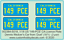 Plymouth Valient from /'Duel/' Car Licence Plate Decals /'149 PCE/'