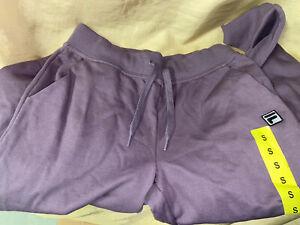 Tamano Pequeno Bolsillo Fila 3 Pantalones Jogger Para Mujer Purpura Puno Elastico Pantalones Deportivos Ebay