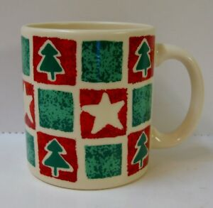 Waechtersbach CHRISTMAS TREE Coffee Mug TREES AND STARS ...
