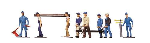 Faller H0 151000 Figurines Railway Construction Workers # New Original Packaging