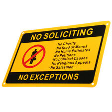 No Entry Prohibition 30cm x 21cm A4 warning sticker sign rigid safety decal