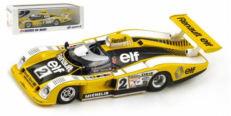 SPARK 43lm78 Renault-Alpine A442   2 Le Mans winner 1978-SCALA