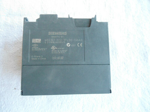 Siemens Digital Output Module     6ES7 322-1FL00-0AA0